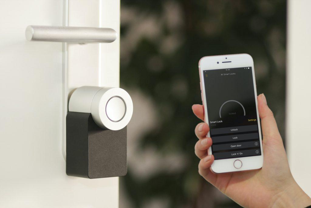 Sterowane SMART domem przez aplikację w telefonie